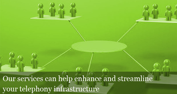 Our services can help enhance and streamline your telephony infrastructure